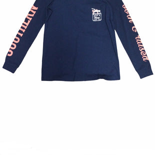 Primary Photo - BRAND: ONE WORLD STYLE: TOP LONG SLEEVE COLOR: NAVY SIZE: S SKU: 155-155228-3971