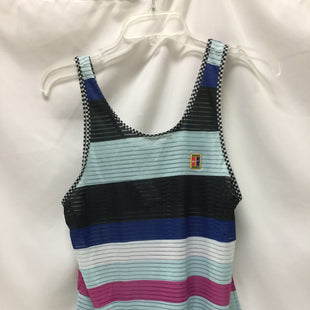Primary Photo - BRAND: NIKE APPAREL STYLE: ATHLETIC TANK TOP COLOR: STRIPEDSIZE: M SKU: 155-155220-7166