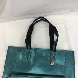 Primary Photo - BRAND: COACH STYLE: HANDBAG DESIGNER COLOR: TEAL SIZE: LARGE OTHER INFO: NEW! SKU: 155-155130-204271