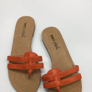 Primary Photo - BRAND: WET SEAL STYLE: SANDALS FLAT COLOR: ORANGE SIZE: 7 SKU: 155-155220-1304R