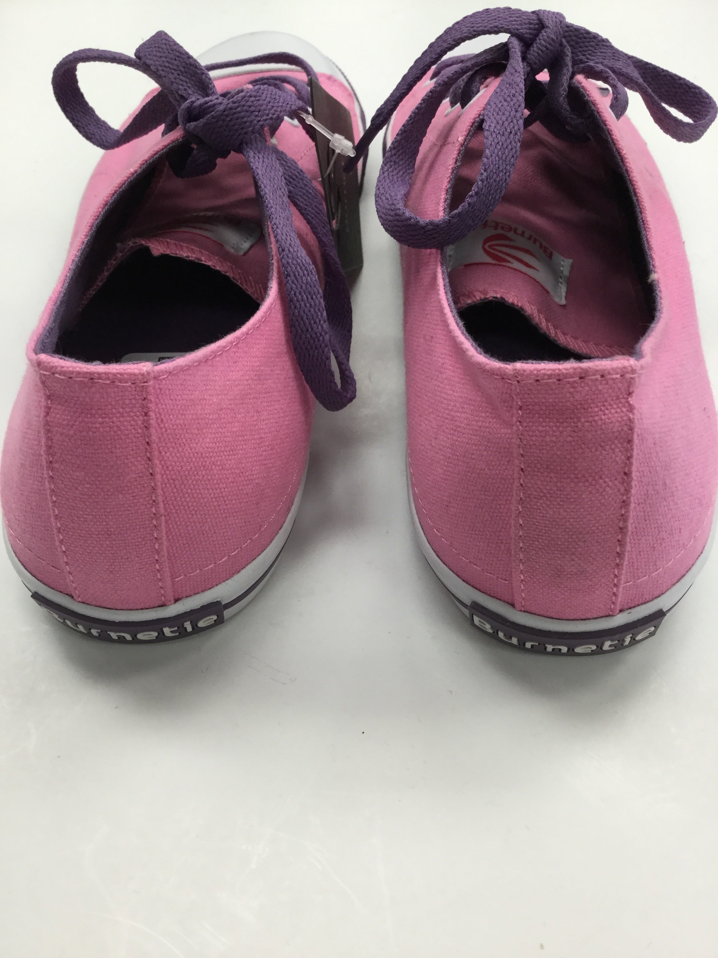 Photo #1 - BRAND:    BURNETIE<BR>STYLE: SHOES ATHLETIC <BR>COLOR: PINK PURPLE WHITE<BR>SIZE: 10 <BR>SKU: 162-16287-33544