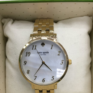Primary Photo - BRAND: KATE SPADE STYLE: WATCH COLOR: GOLD SKU: 155-155224-21833