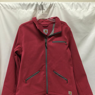 Primary Photo - BRAND:    CLOTHES MENTOR STYLE: JACKET OUTDOOR COLOR: PINK SIZE: L OTHER INFO: CARHARTT - SKU: 155-155220-7249