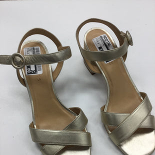 Primary Photo - BRAND: TALBOTS STYLE: SANDALS LOW COLOR: GOLD SIZE: 9.5 SKU: 155-15599-230959