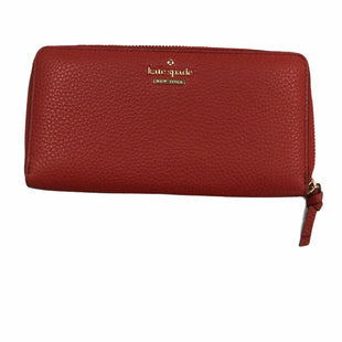 Primary Photo - BRAND: KATE SPADE STYLE: WALLET COLOR: RED SIZE: LARGE SKU: 155-15599-245027