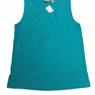 Primary Photo - BRAND: CHICOS STYLE: TANK TOP COLOR: TURQUOISE SIZE: M / CHICO'S 1SKU: 155-155220-13978