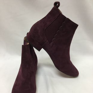 Primary Photo - BRAND: BANANA REPUBLIC STYLE: BOOTS ANKLE COLOR: PURPLE SIZE: 8.5 SKU: 155-155220-8509
