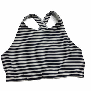 Primary Photo - BRAND: ATHLETA STYLE: ATHLETIC TANK TOP COLOR: STRIPED NAVY AND WHITESIZE: S SKU: 155-155224-25953