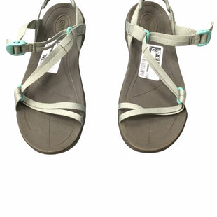Primary Photo - BRAND: TEVA STYLE: SANDALS FLAT COLOR: GREEN SIZE: 7 SKU: 155-155220-12815