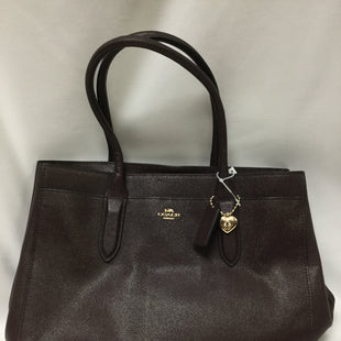 Primary Photo - BRAND: COACH STYLE: HANDBAG DESIGNER COLOR: MAROON SIZE: LARGE SKU: 155-155220-4235