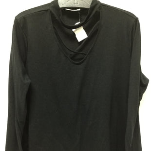 Primary Photo - BRAND: BOBBIE BROOKS STYLE: TOP LONG SLEEVE COLOR: BLACK SIZE: 1X SKU: 155-155220-7674