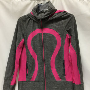 Primary Photo - BRAND: LULULEMON STYLE: ATHLETIC JACKET COLOR: GREY SIZE: S SKU: 155-155130-213515