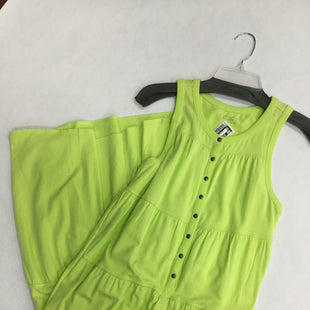Primary Photo - BRAND: ATHLETA STYLE: DRESS SHORT SLEEVELESS COLOR: NEON SIZE: S SKU: 155-15545-202180NEON LIME