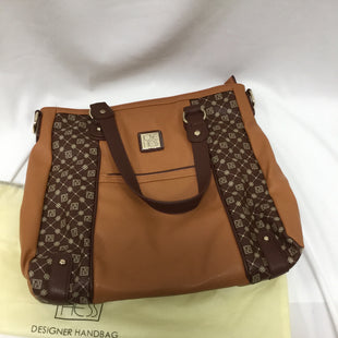 Primary Photo - BRAND:    CLOTHES MENTOR STYLE: HANDBAG COLOR: BROWN SIZE: LARGE OTHER INFO: JOSE HESS - SKU: 155-155228-1000