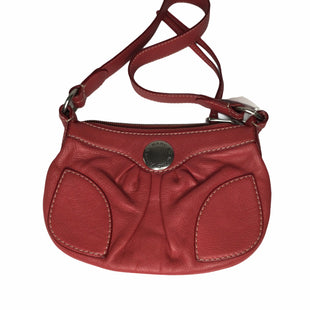Primary Photo - BRAND: MARC JACOBS STYLE: HANDBAG COLOR: RED SIZE: SMALL OTHER INFO: SOME WEAR SKU: 155-155224-20554