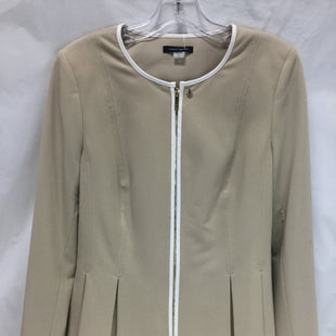 Primary Photo - BRAND: TOMMY HILFIGER STYLE: BLAZER JACKET COLOR: TAN SIZE: M SKU: 155-15545-204470