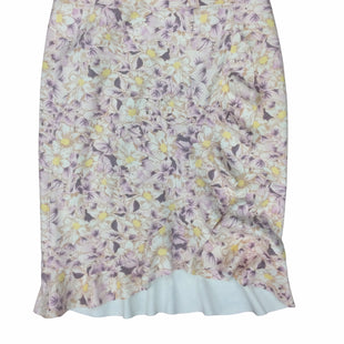 Primary Photo - BRAND: ANTHROPOLOGIE STYLE: SKIRT COLOR: FLORAL SIZE: L SKU: 155-155130-217723
