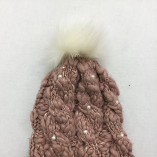 Primary Photo - BRAND: BETSEY JOHNSON STYLE: HAT COLOR: DUSTY PINK SKU: 155-155224-15544