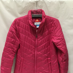 Primary Photo - BRAND: COLUMBIA STYLE: JACKET OUTDOOR COLOR: HOT PINK SIZE: M SKU: 155-155224-5389