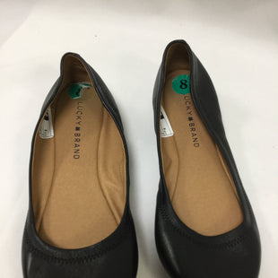 Primary Photo - BRAND: LUCKY BRAND STYLE: SHOES FLATS COLOR: BLACK SIZE: 8 SKU: 155-155187-24157