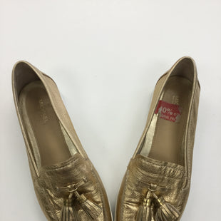 Primary Photo - BRAND: MICHAEL BY MICHAEL KORS STYLE: SHOES FLATSCOLOR: GOLD SIZE: 7 SKU: 155-15599-219878