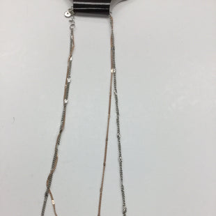 Primary Photo - BRAND: GH BASS AND CO STYLE: NECKLACE COLOR: GOLD SILVER SKU: 155-155130-205184