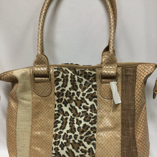 Primary Photo - BRAND:    CLOTHES MENTOR STYLE: HANDBAG COLOR: ANIMAL PRINT SIZE: LARGE SKU: 155-155220-5426
