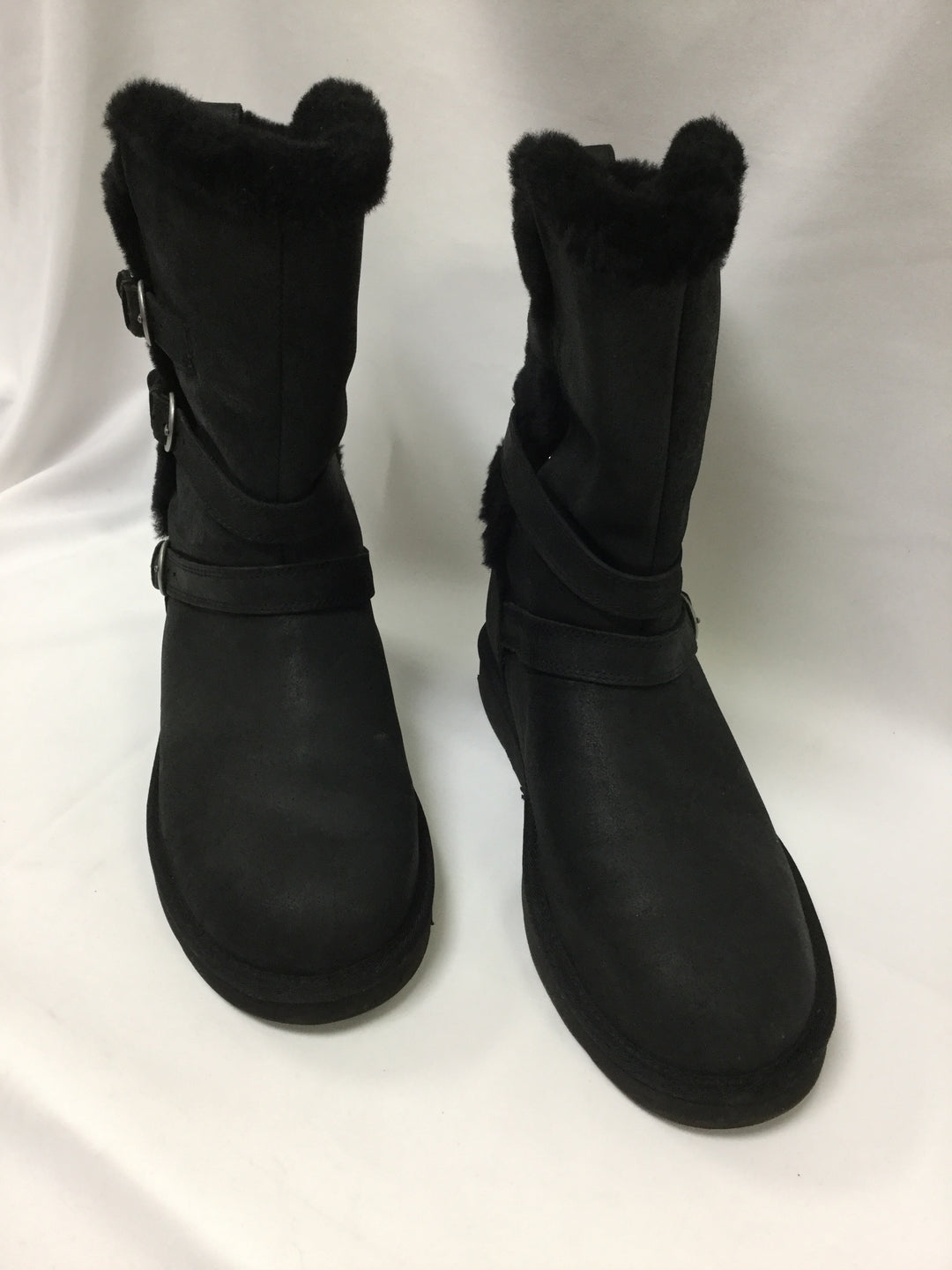 Photo #1 - BRAND: UGG <BR>STYLE: BOOTS KNEE <BR>COLOR: BLACK <BR>SIZE: 11 <BR>SKU: 155-15599-235498