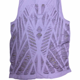 Primary Photo - BRAND: 90 DEGREES BY REFLEX STYLE: ATHLETIC TANK TOP COLOR: LILAC SIZE: M SKU: 155-155224-17324
