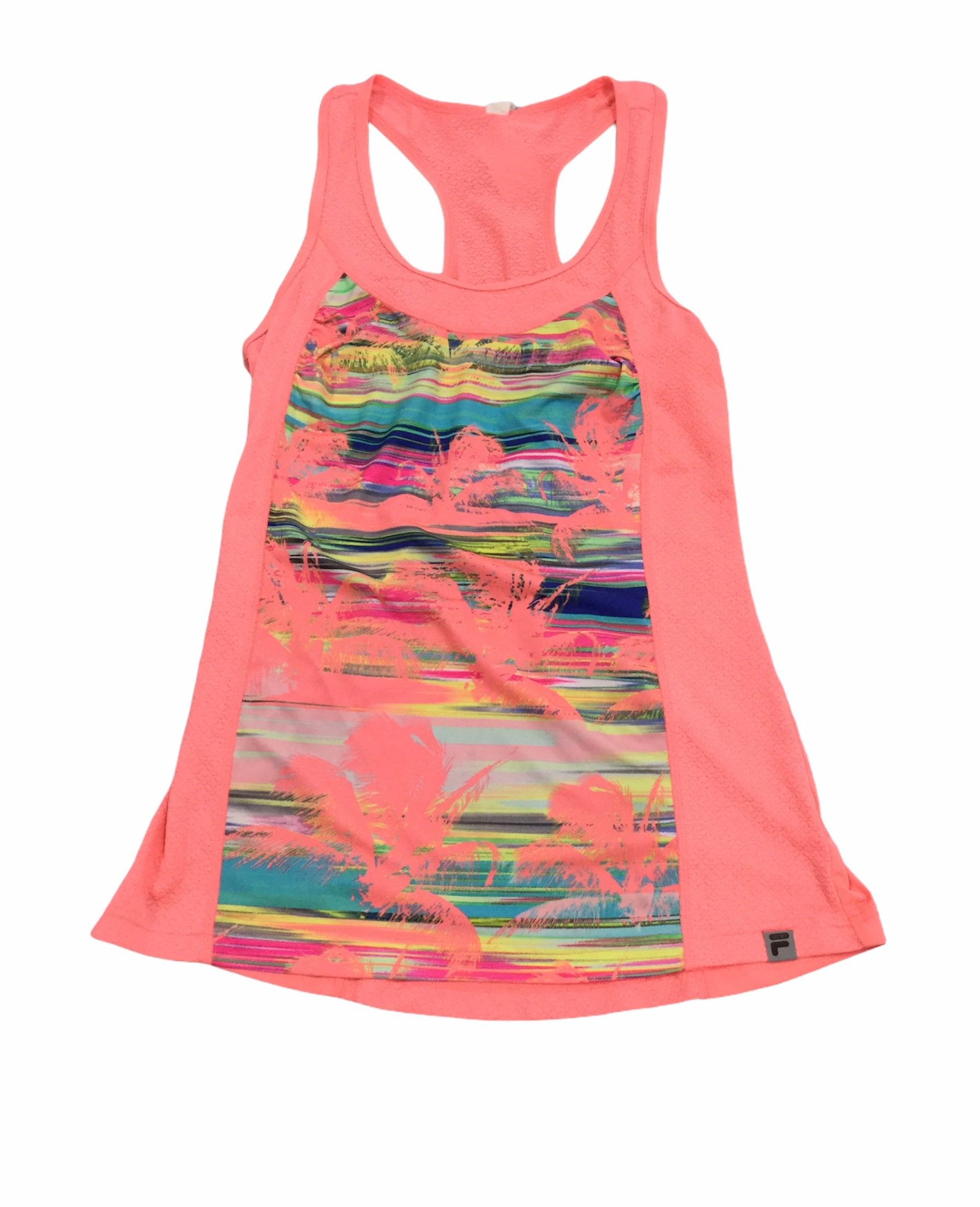 Primary Photo - BRAND: FILA <BR>STYLE: ATHLETIC TANK TOP <BR>COLOR: NEON <BR>SIZE: M <BR>SKU: 155-155224-15739