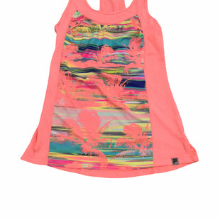 Primary Photo - BRAND: FILA STYLE: ATHLETIC TANK TOP COLOR: NEON SIZE: M SKU: 155-155224-15739