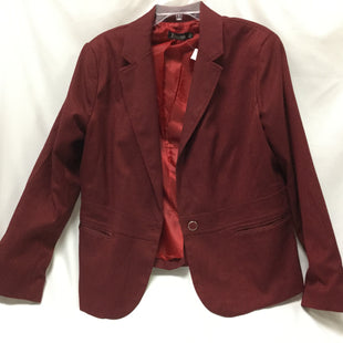 Primary Photo - BRAND: NEW YORK AND CO STYLE: BLAZER JACKET COLOR: RED SIZE: 1X SKU: 155-15599-236760