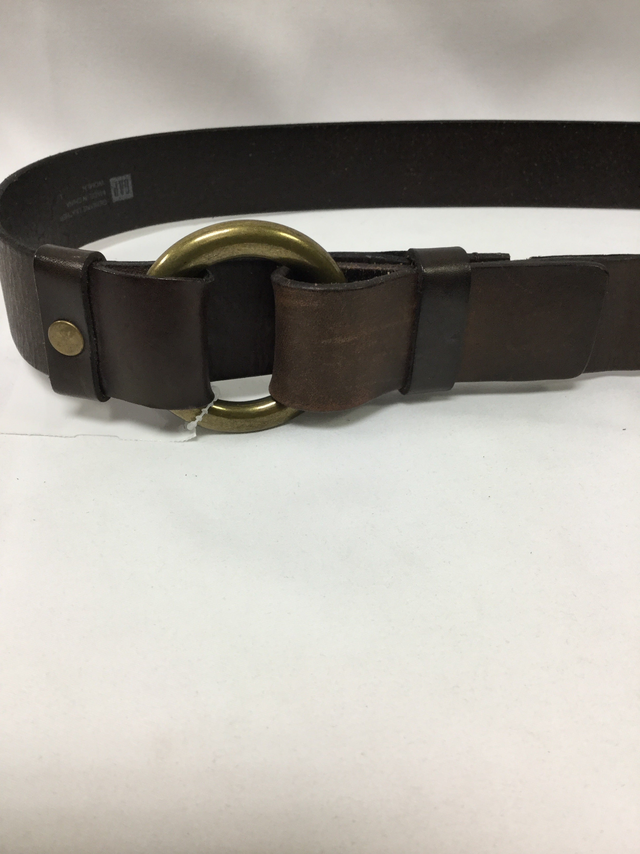 Photo #1 - BRAND: GAP <BR>STYLE: BELT <BR>COLOR: BROWN <BR>SIZE: L <BR>SKU: 155-155220-4548