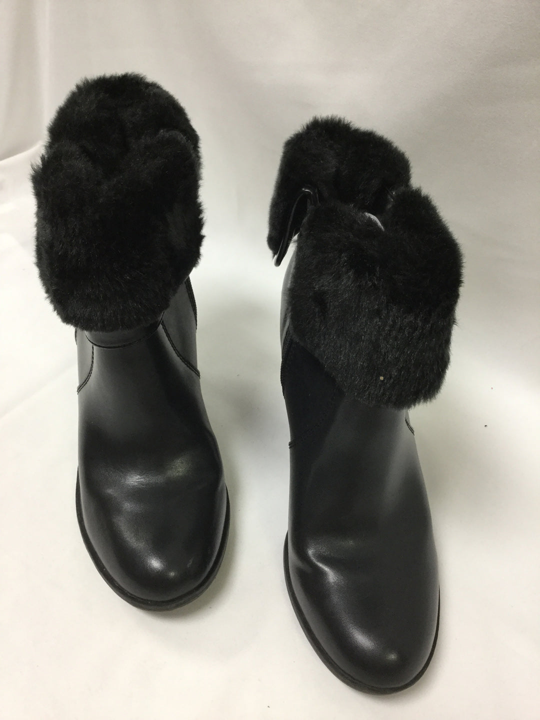 Photo #1 - BRAND: CROFT AND BARROW <BR>STYLE: BOOTS ANKLE <BR>COLOR: BLACK <BR>SIZE: 9.5 <BR>SKU: 155-155201-16512