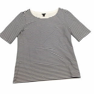 Primary Photo - BRAND: ANN TAYLOR STYLE: TOP SHORT SLEEVE COLOR: STRIPED SIZE: S SKU: 155-155220-11015