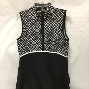 Primary Photo - BRAND: ZENERGY BY CHICOS STYLE: DRESS SHORT SLEEVELESS COLOR: BLACK WHITE SIZE: S OTHER INFO: ATHLETIC SKU: 155-155130-204641