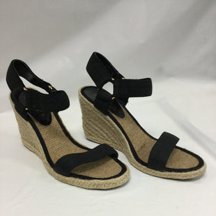 Primary Photo - BRAND: LAUREN BY RALPH LAUREN STYLE: SANDALS HIGH COLOR: BLACK SIZE: 6.5 SKU: 155-155130-203033