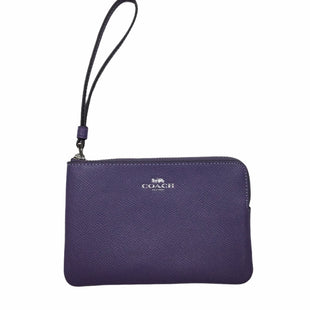 Primary Photo - BRAND: COACH STYLE: WRISTLET COLOR: LILAC SKU: 155-155224-22038