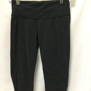 Primary Photo - BRAND: ATHLETA STYLE: ATHLETIC CAPRIS COLOR: BLACK SIZE: XS SKU: 155-155185-7554