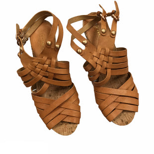 Primary Photo - BRAND: COACH O STYLE: SANDALS HIGH COLOR: TAN SIZE: 9.5 SKU: 155-155185-9402