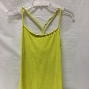 Primary Photo - BRAND: LULULEMON STYLE: ATHLETIC TANK TOP COLOR: NEON SIZE: 10 SKU: 155-15545-207010