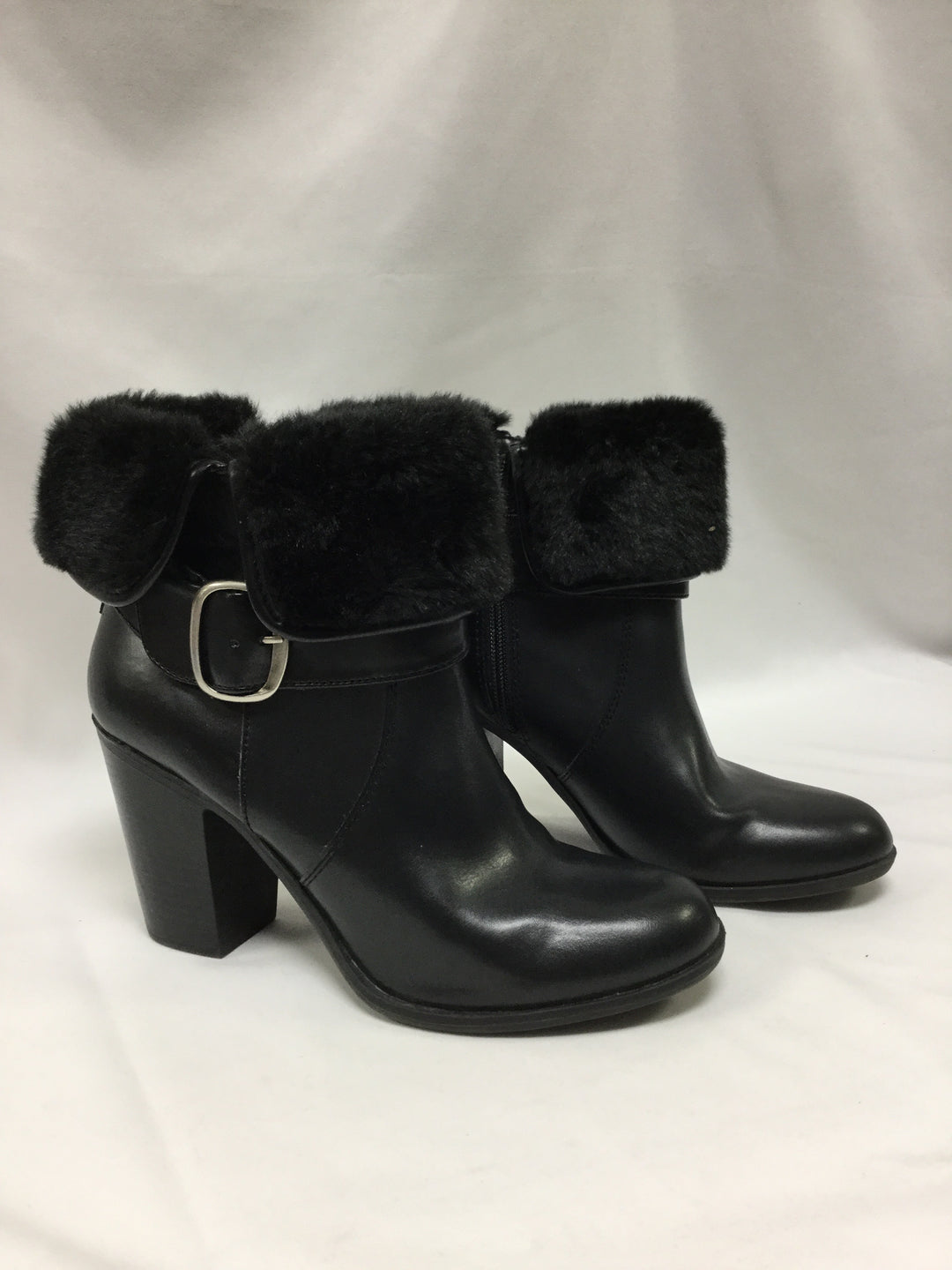 Primary Photo - BRAND: CROFT AND BARROW <BR>STYLE: BOOTS ANKLE <BR>COLOR: BLACK <BR>SIZE: 9.5 <BR>SKU: 155-155201-16512