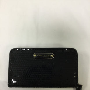 Primary Photo - BRAND: BETSEY JOHNSON STYLE: WALLET COLOR: BLACK SIZE: LARGE SKU: 155-155224-16100