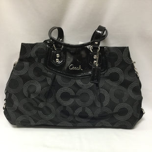 Primary Photo - BRAND: COACH O STYLE: HANDBAG DESIGNER COLOR: BLACK SIZE: LARGE SKU: 155-155130-211697