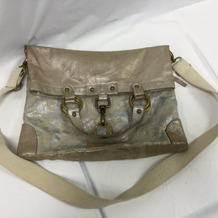 Primary Photo - BRAND:    CLOTHES MENTOR STYLE: HANDBAG COLOR: KHAKI, GOLD, SILVER SIZE: LARGE SKU: 155-15545-204003