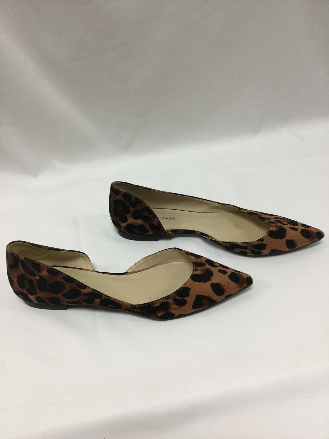 Photo #1 - BRAND: MARC FISHER <BR>STYLE: SHOES FLATS <BR>COLOR: ANIMAL PRINT <BR>SIZE: 8.5 <BR>SKU: 155-155215-3350