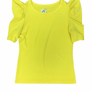 Primary Photo - BRAND: NEW YORK AND CO STYLE: TOP SHORT SLEEVE COLOR: YELLOW SIZE: M SKU: 155-15599-247132