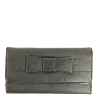 Primary Photo - BRAND:    CLOTHES MENTOR STYLE: WALLET COLOR: BLACK SIZE: MEDIUM SKU: 155-15599-228454