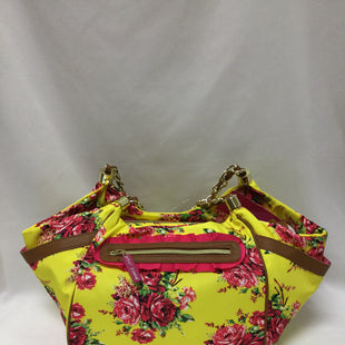 Primary Photo - BRAND: BETSEY JOHNSON STYLE: HANDBAG COLOR: YELLOW SIZE: LARGE SKU: 155-15599-234481