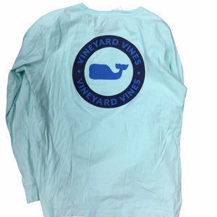 Primary Photo - BRAND: VINEYARD VINES STYLE: TOP LONG SLEEVE COLOR: AQUA SIZE: M SKU: 155-155224-21923